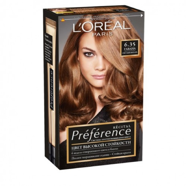 L'oreal preference 6.35