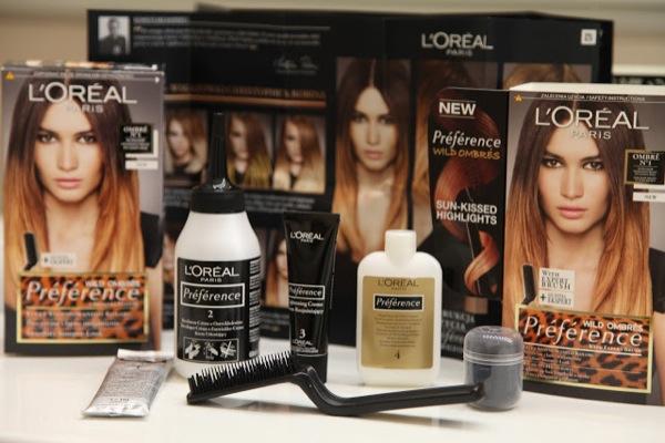 Краска для волос лореаль с расческой