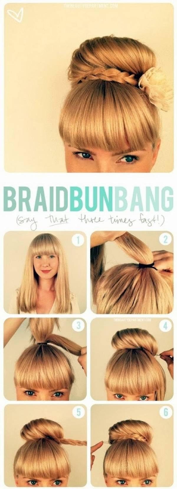 Фото красивых причёсок и как их сделать