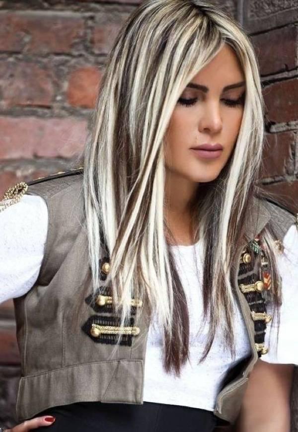 Как сделать мелирование на белых волосах