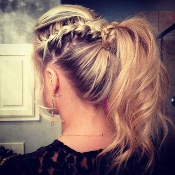 Плетение волос видео