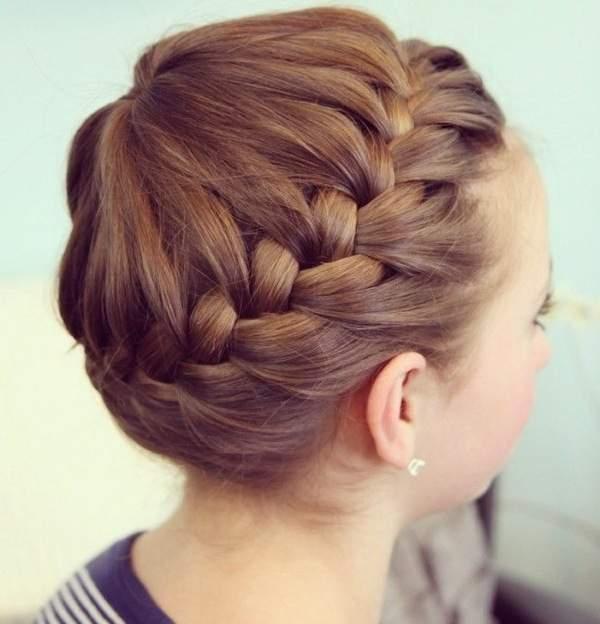 «Как плести косу вокруг