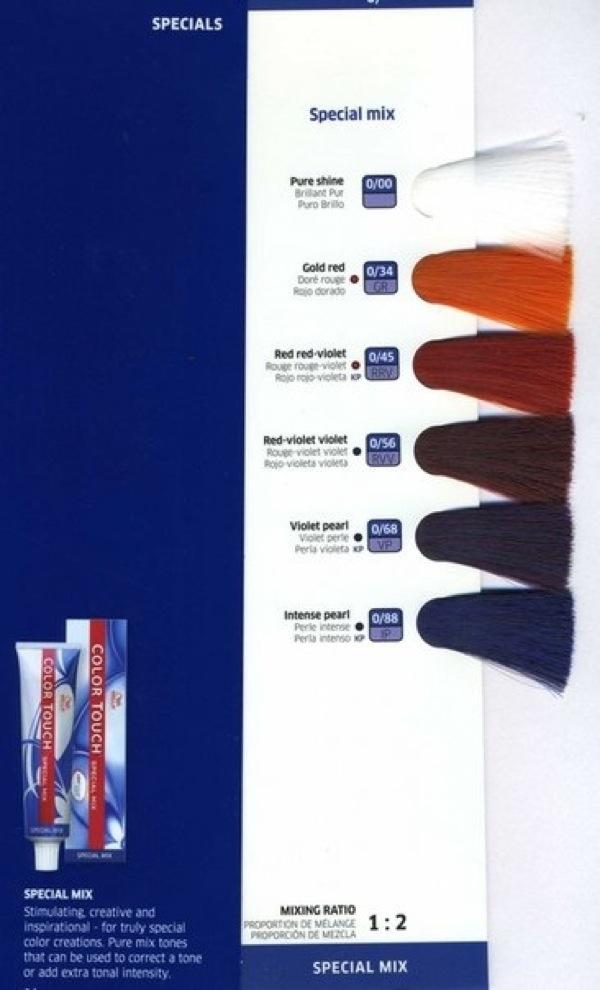 Цветовая палитра оттенков Велла Колестон Всё о красоте 46