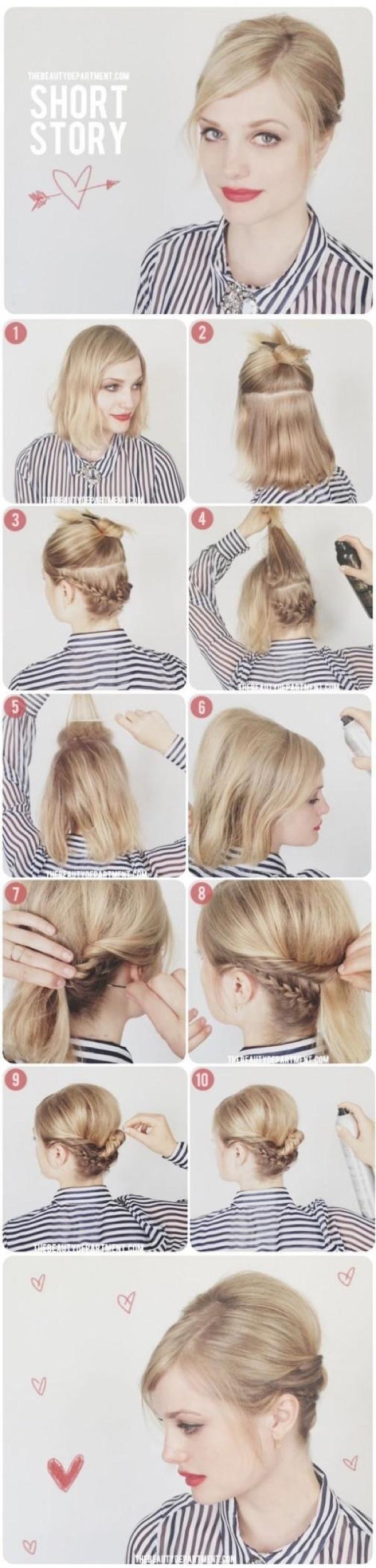 Прически на короткие волосы - iVolos.ru