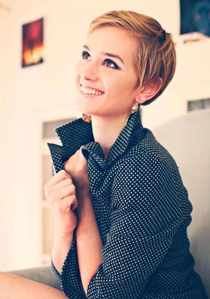 Фото модных стрижек коротких женских стрижек