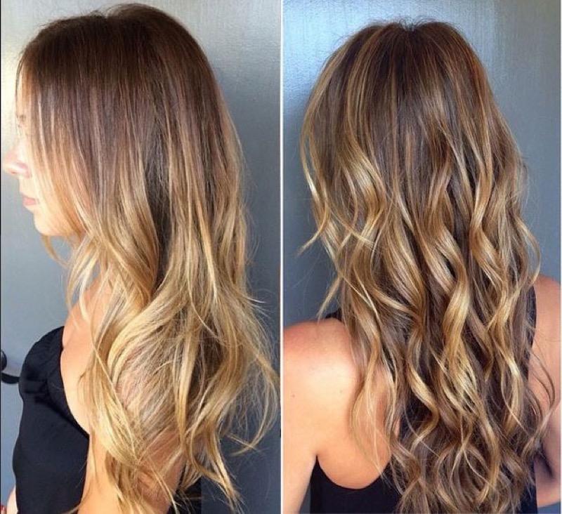колорирование волос фото модный цвет 2016