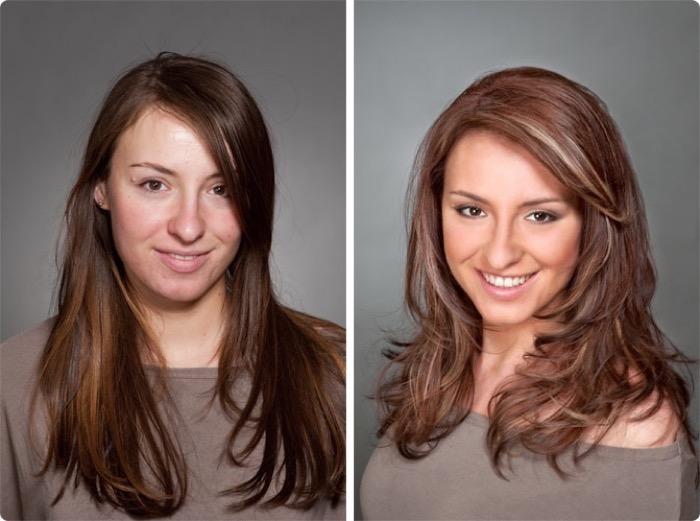 окрашивание волос шоколадный цвет волос фото
