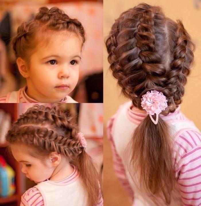 Плетение для маленьких девочек фото
