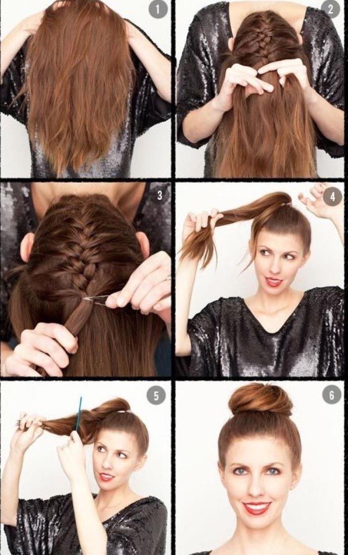 Легкие прически на каждый день на средние волосы своими руками фото пошагово