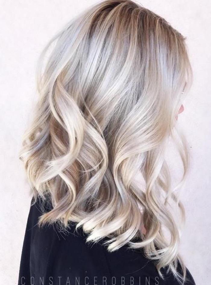 Мелирование объем волос