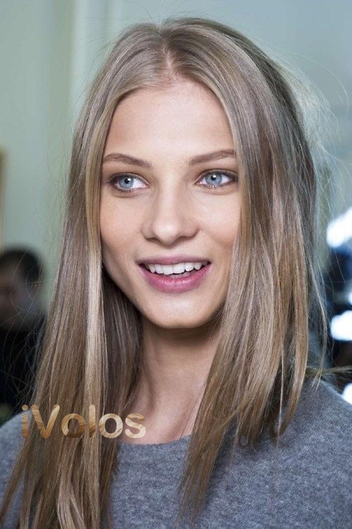 Натуральный светло русый цвет волос
