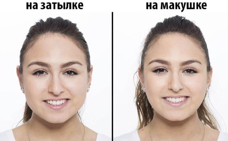 какая прическа делает лицо худее